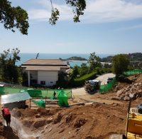 Koh Samui Villa start of construction