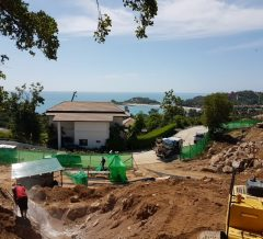 Koh Samui Villa start of construction