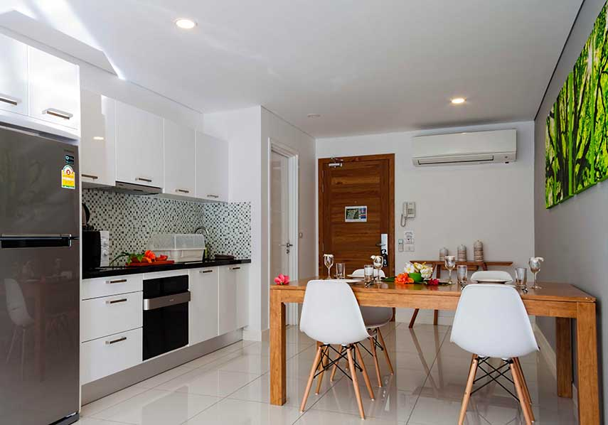 Horizon Residence kitchen.