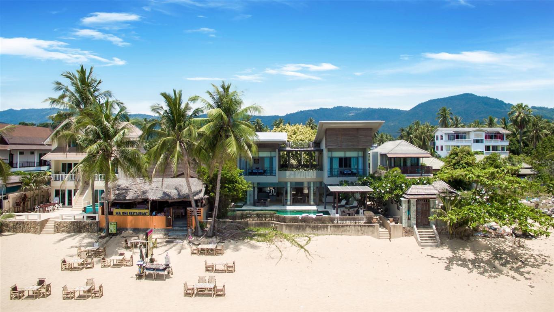 Belle villa sur la plage