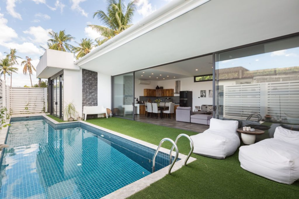 2-bedroom pool villa in bophut, koh samui