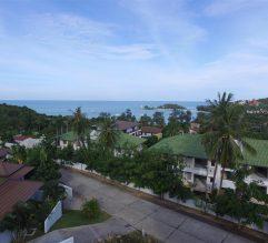 Beautiful sea view over the bay of Choeng Mon, Koh Samui.