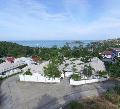 Beautiful sea view overlooking Choeng Mon Bay, Koh Samui.