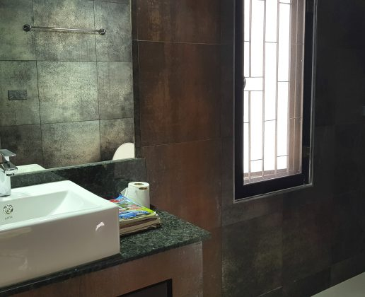 Bathroom of a garden villa