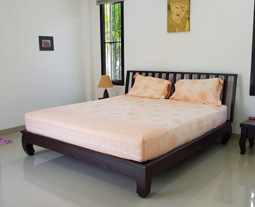 Bedroom of a garden villa