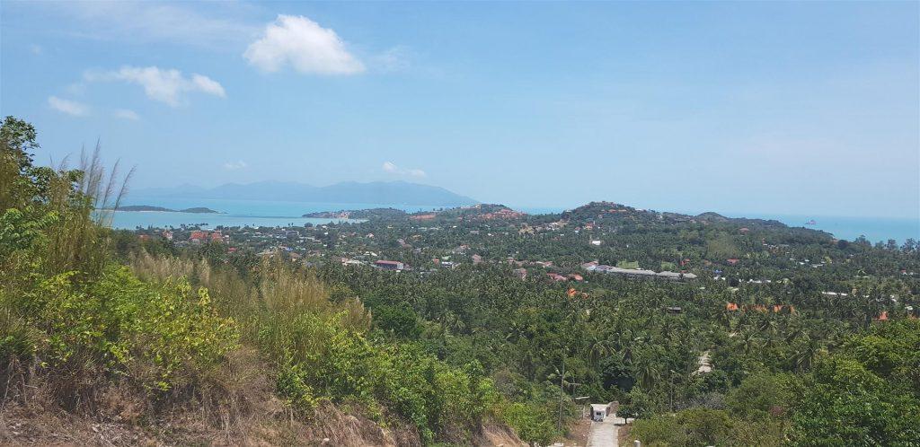 Beautiful sea view plot located on Koh Samui island