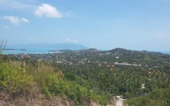 Beautiful sea view plot located on Koh Samui island