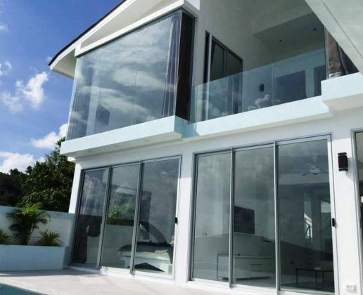 Nice 3-bedroom sea view villa in Bophut, Koh Samui.