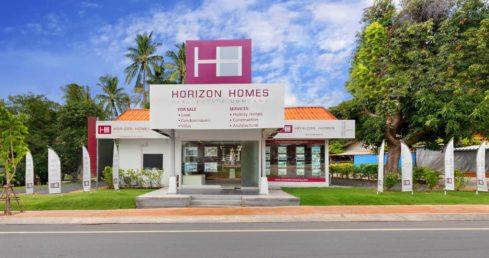 Extérieur du bureau Horizon Homes
