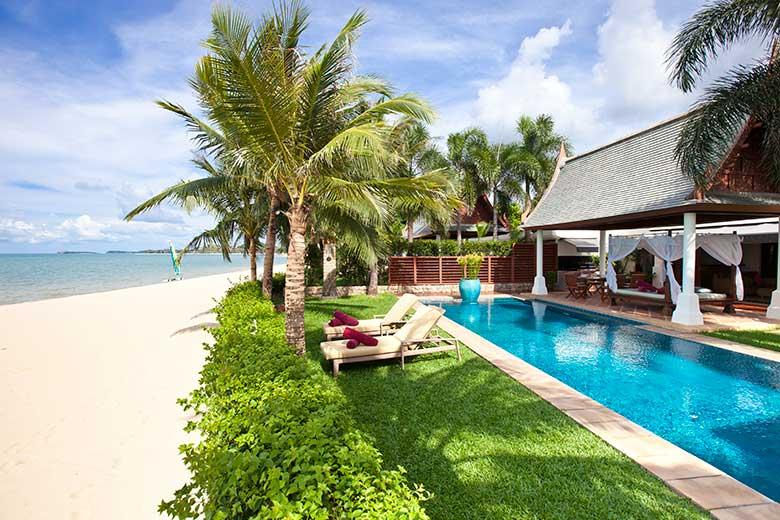 Thailand beach villa.