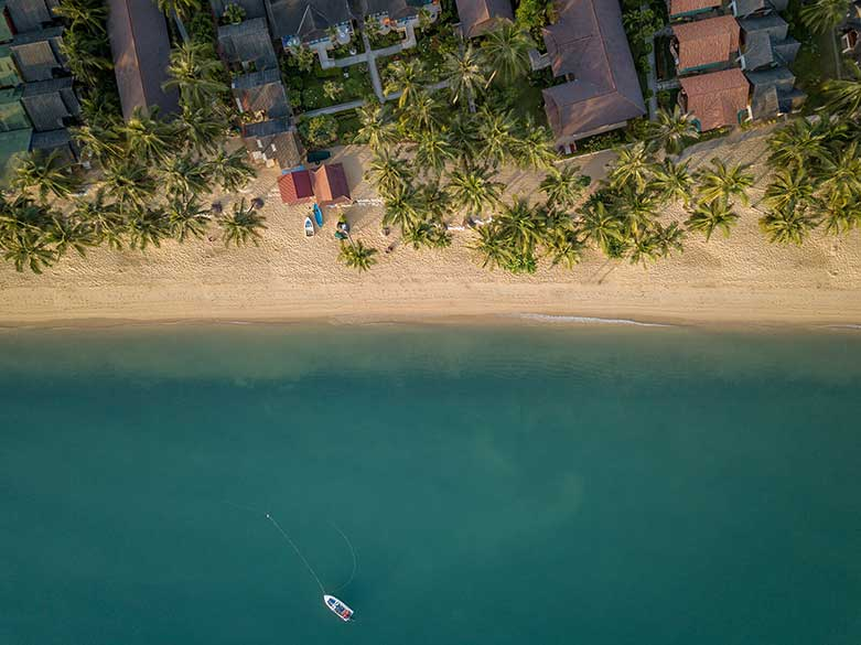 Ocean view in Thailand