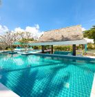 stunning villa on the beach in koh samui
