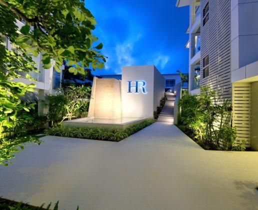 Horizon Residence at night