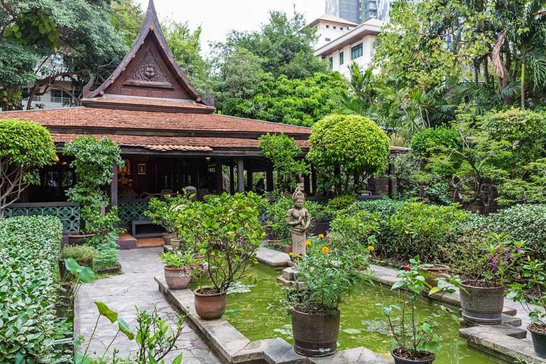 Maison avec jardin en Thaïlande.
