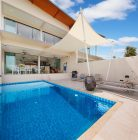 Spacious sea view house, private pool