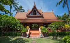 Stunning beach villa