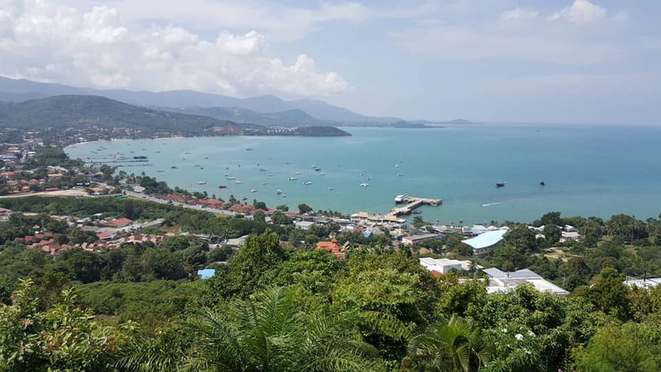 Stunning sea view land koh samui