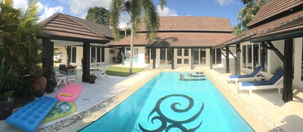 3-bedroom balinese style villa