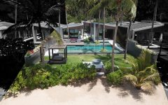 Beach front villa, Samui, luxury