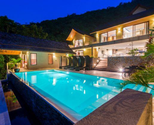 5 bedroom sea view villa Chaweng