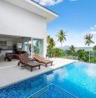 Villas avec vue sur la mer à Koh Samui a un super prix