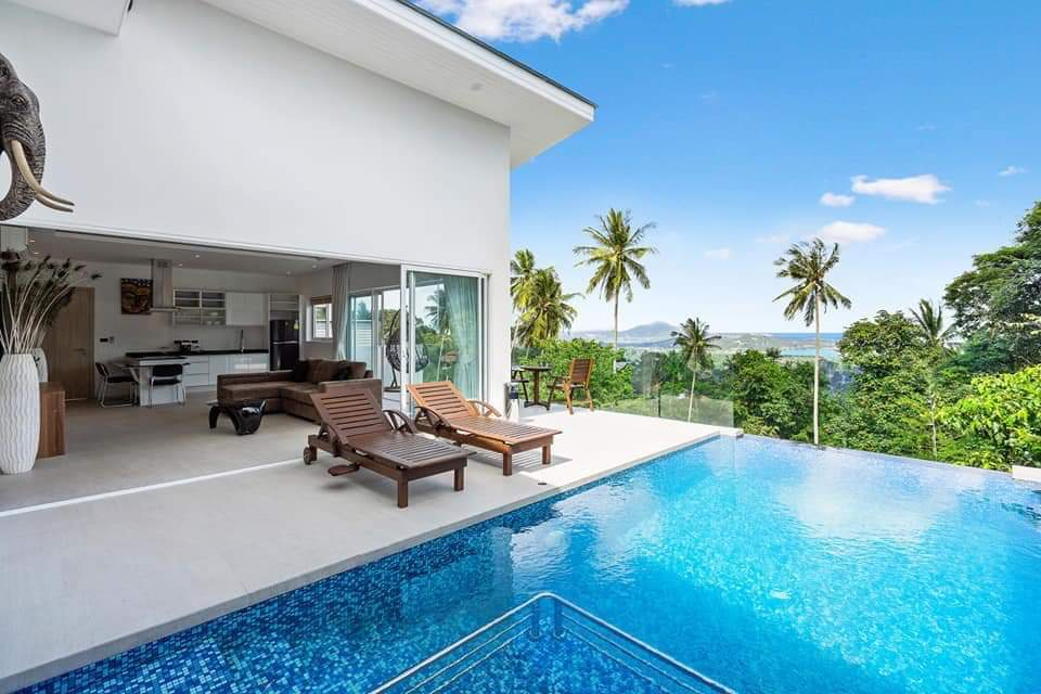 great value sea view villas in koh samui