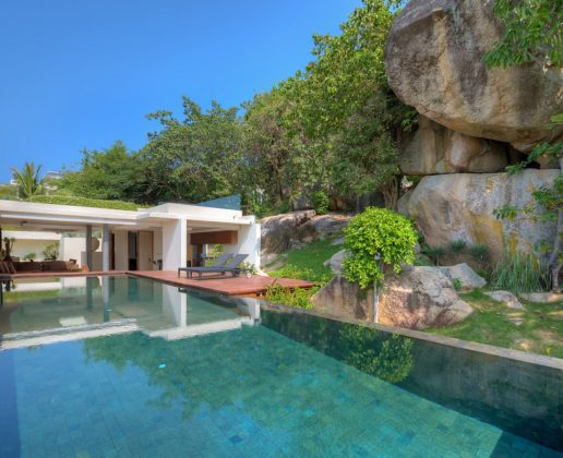 3 bedroom sea view villa, modern design