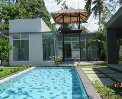 3 bedroom garden villa, peaceful location