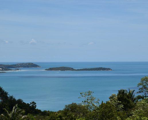 terrain vue mer sur chaweng noi Koh Samui