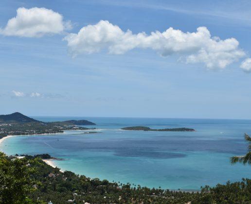Stunning sea view land plot chaweng noi