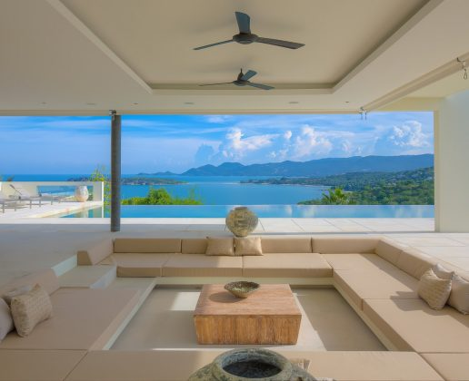 4 bedroom modern villa, stunning views