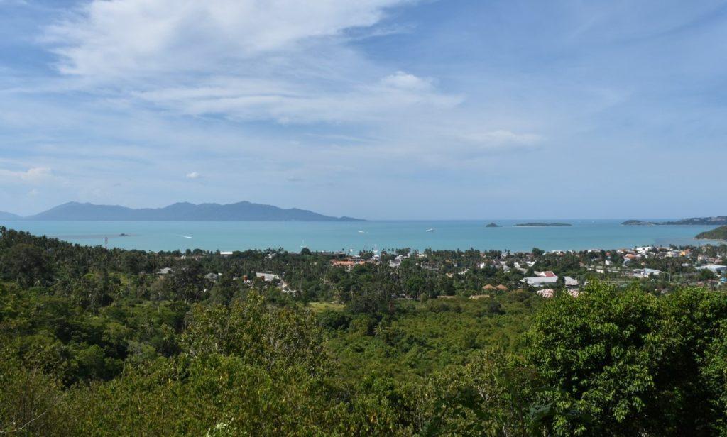 Stunning sea view land bophut