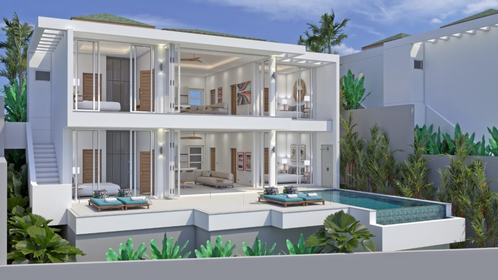 6-bedroom villa with sea view