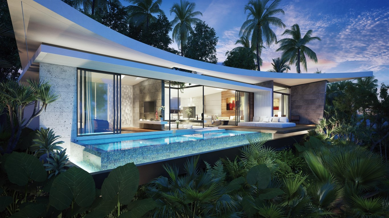 3-bedroom off-plan modern villa