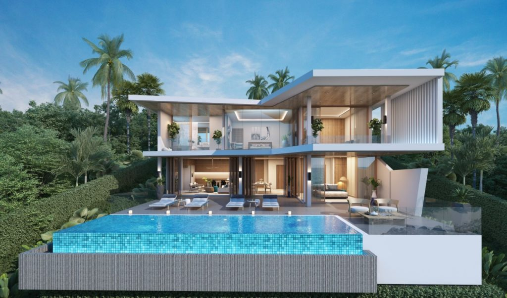 4-bedroom modern villa project