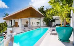 modern 4-bedroom villa with sea view