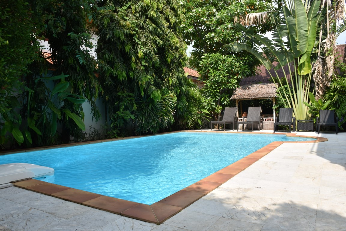 3-bedroom villa with swimming pool