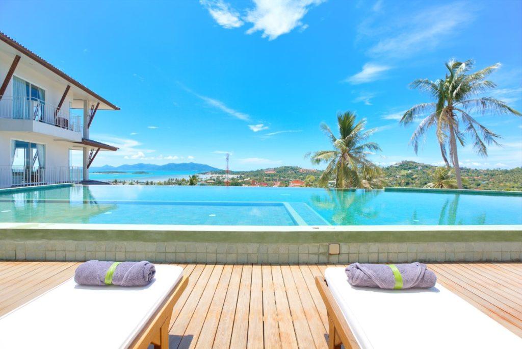 Sea view condominium koh samui