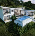 3 bedrooom sea view villa close to the beach