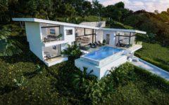 3 bedrooom sea view villa close to the beach