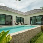 Pool villa with garden
