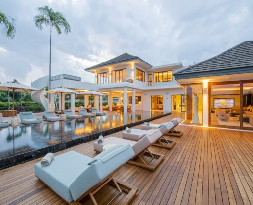Phuket private estate, private lake