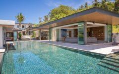 luxury sunset beach villa