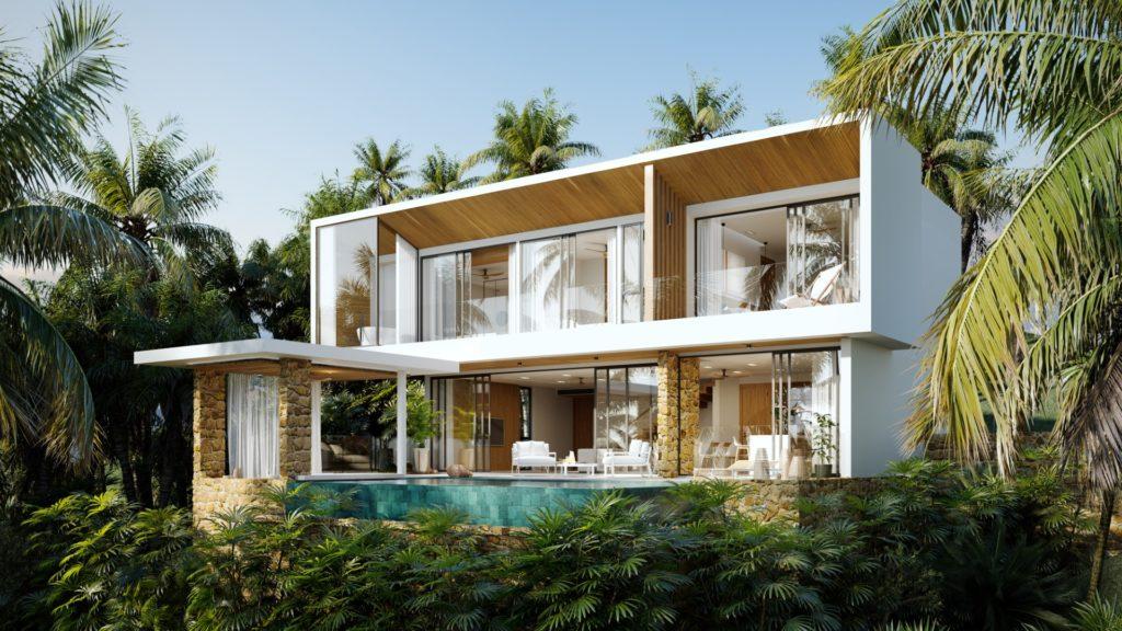 Stylish sea view villa