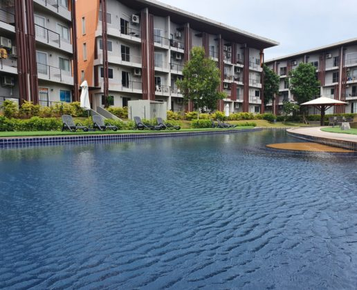 Sea view condo, foreign freehold